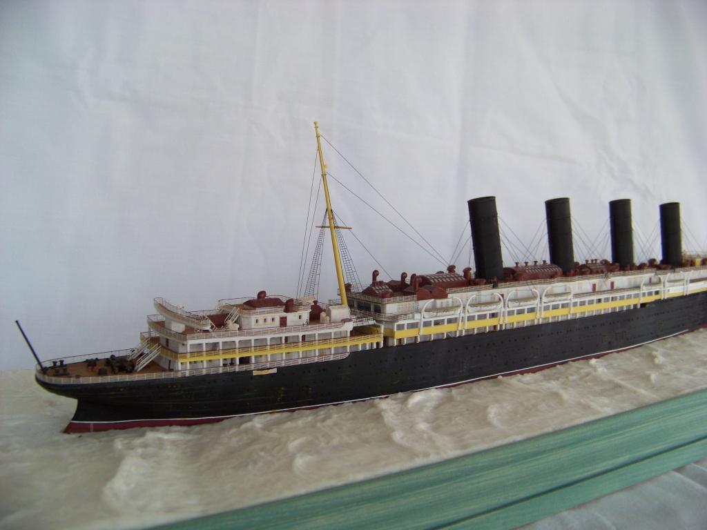 Diorama du torpillage du RMS Lusitania 1/350 Gunze Sangyo - Page 2 100_9311