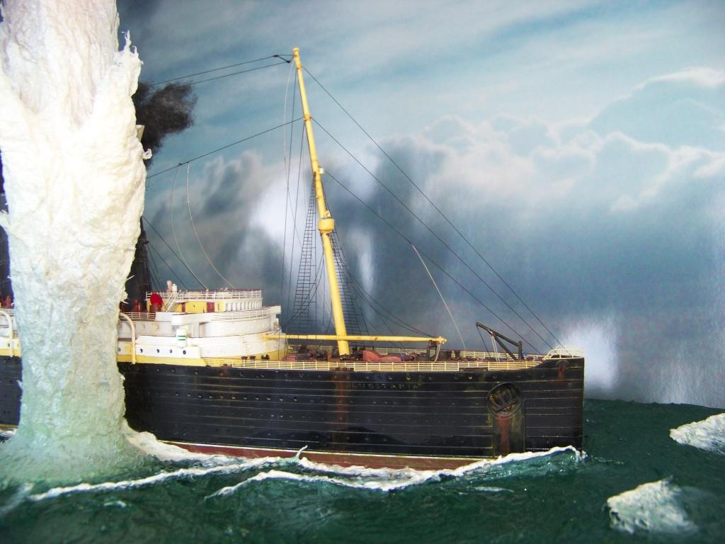 Diorama du torpillage du RMS Lusitania 1/350 Gunze Sangyo - Page 4 100_9333