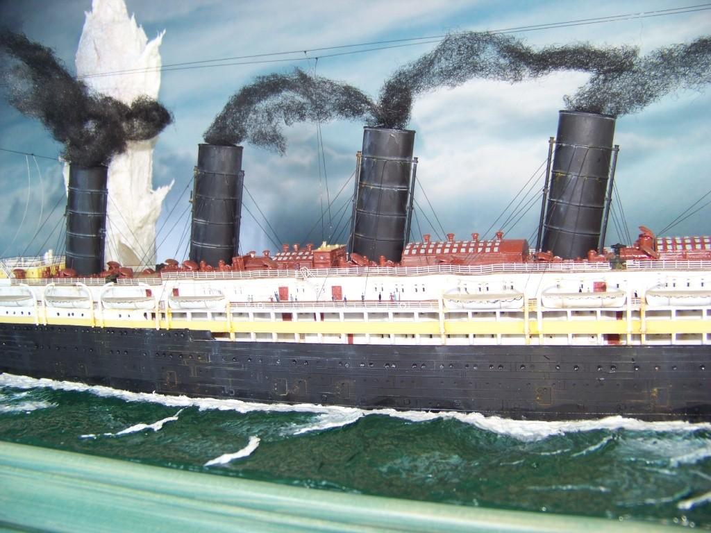 Dio : Torpillage du RMS Lusitania (Gunze Sangyo 1/350°) par PLEF 100_9355