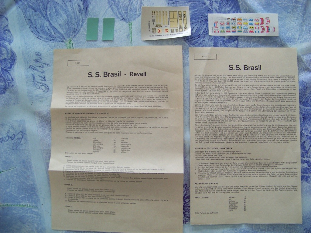 Paquebot mixte SS Brasil au 1/400 Revell  100_9360