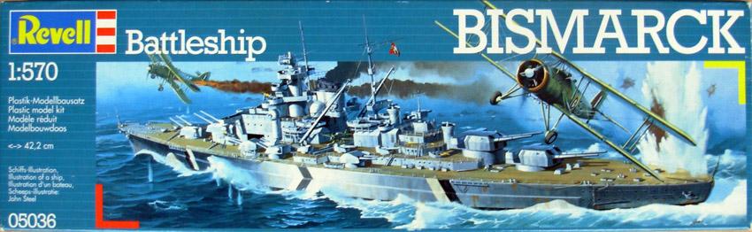 Le Bismarck de chez Revell échelle au 1/570 Bismar10