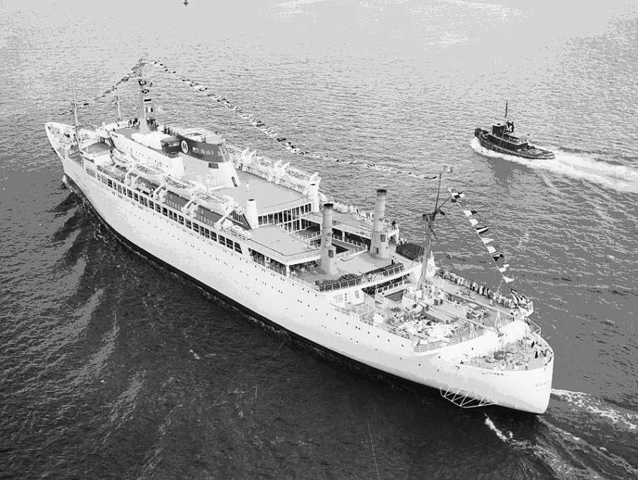 Paquebot mixte SS Brasil au 1/400 Revell  Brasil16