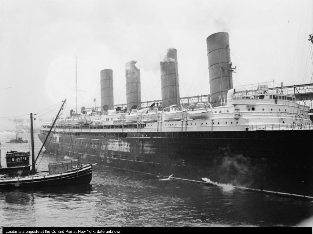 Dio : Torpillage du RMS Lusitania (Gunze Sangyo 1/350°) par PLEF First-11
