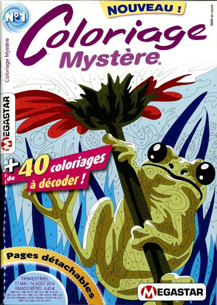 Coloriage Mystère n° 1 M4186h11