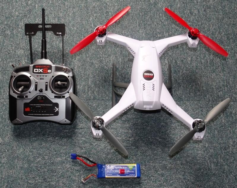 """Vorstellung meines """"Hubbis"""" Quadrocopter Blade 350 QX2 Dsc04215"""