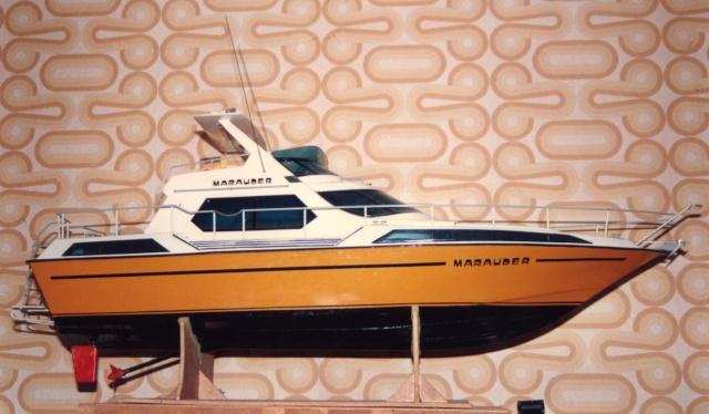 Marauder -- Motoryacht von robbe aus den frühen 80ern Maraud10