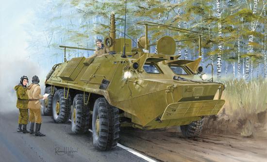 BTR 60 PU Trumpeter 55fb9b10