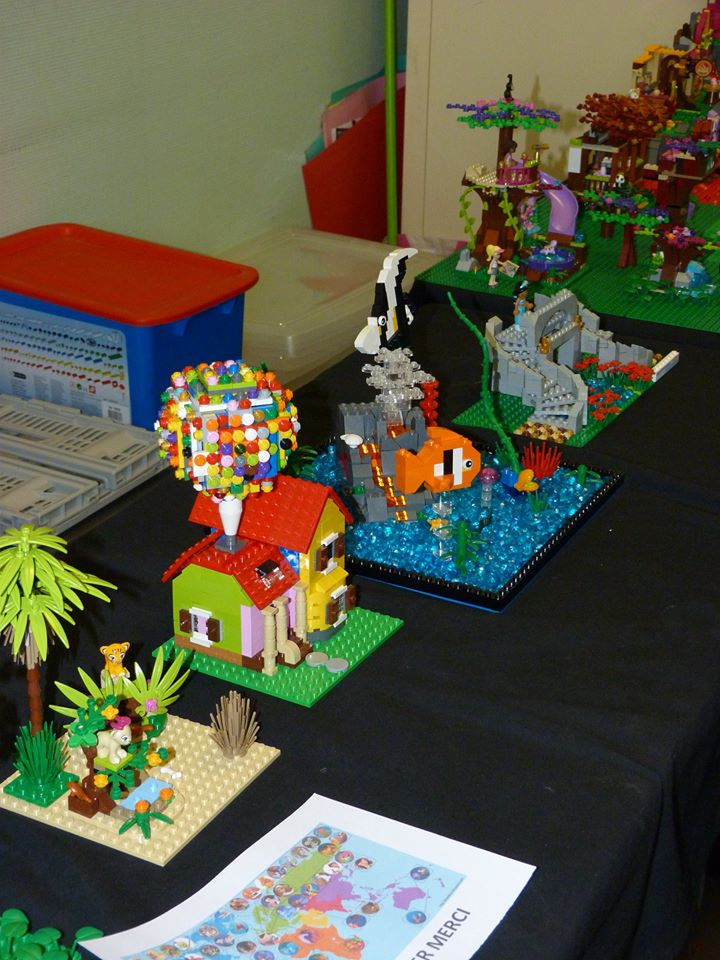 Diorama Elves exposition de LEGO Villeurbanne 2/04/16 10403610