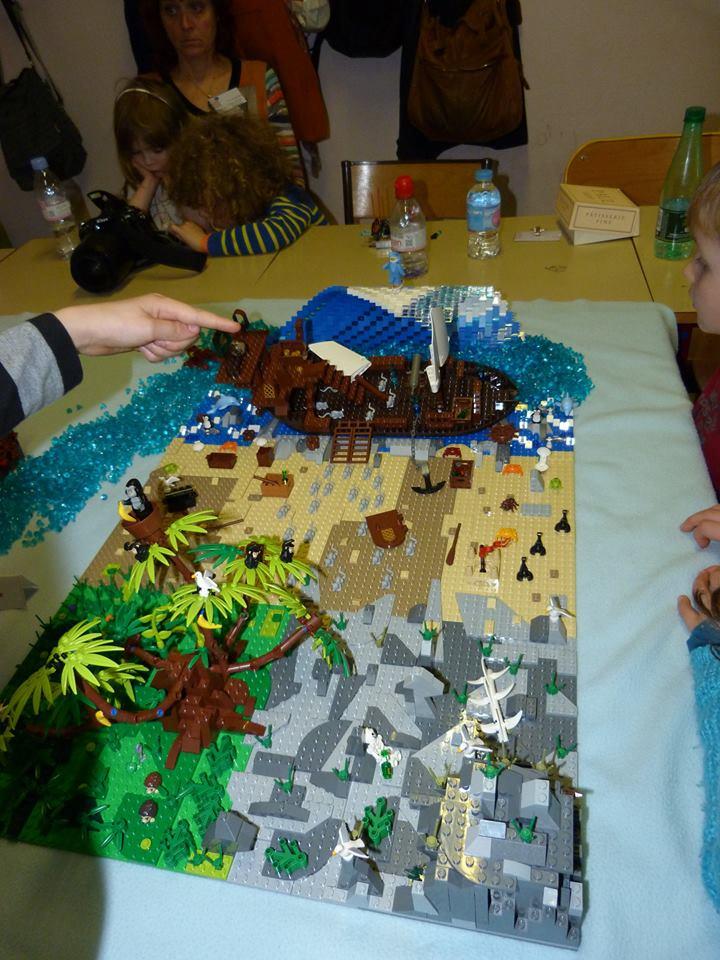 Diorama Elves exposition de LEGO Villeurbanne 2/04/16 12512710