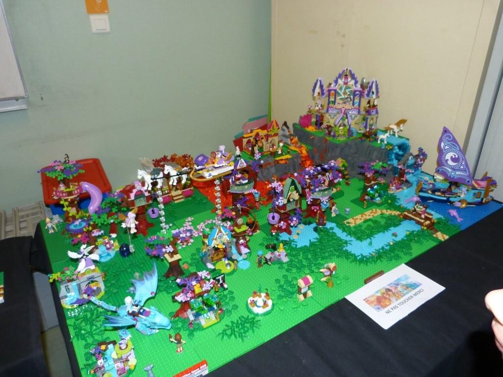 Diorama Elves exposition de LEGO Villeurbanne 2/04/16 Img_2011