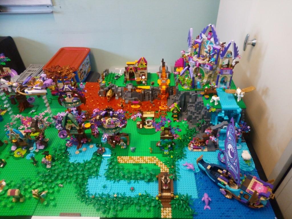 Diorama Elves exposition de LEGO Villeurbanne 2/04/16 Img_2014