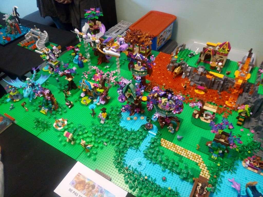 Diorama Elves exposition de LEGO Villeurbanne 2/04/16 Img_2018