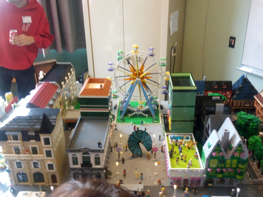 Diorama Elves exposition de LEGO Villeurbanne 2/04/16 Img_2026