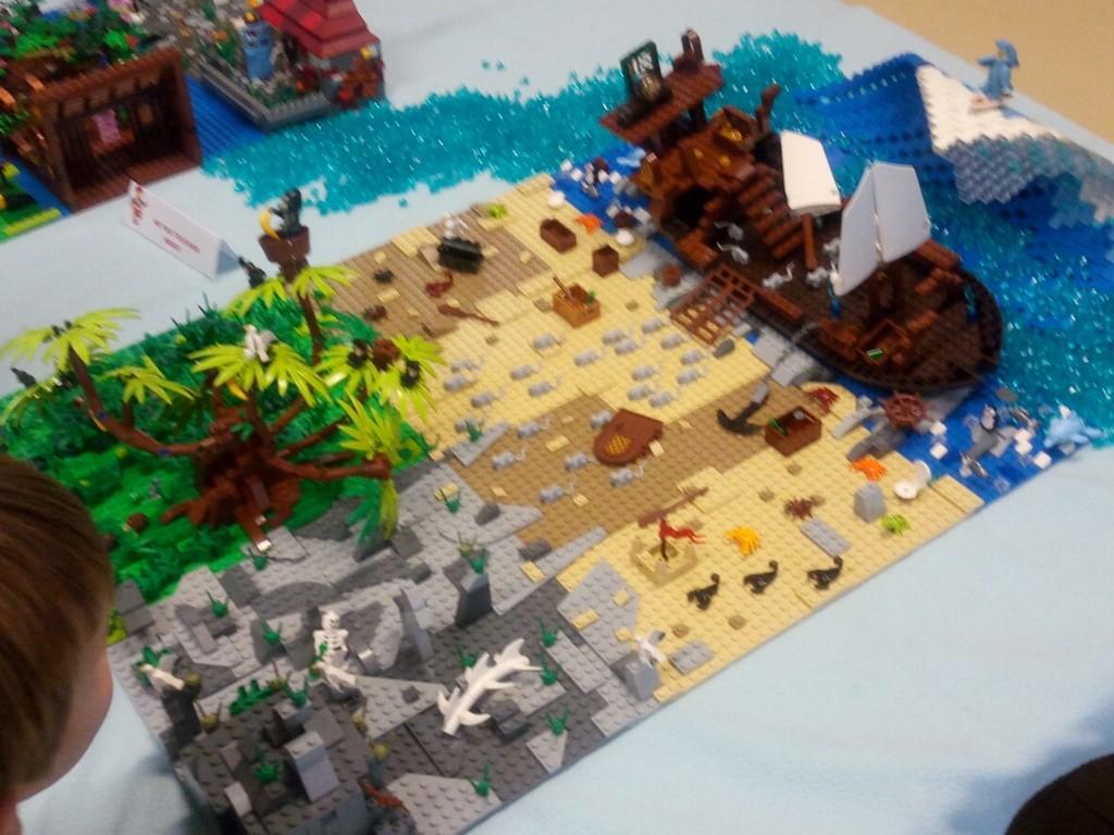 Diorama Elves exposition de LEGO Villeurbanne 2/04/16 Img_2027