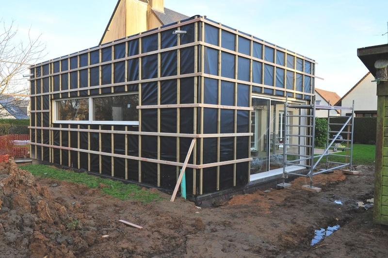 Construction d'un atelier en ossature bois ! - Le Bardage ! - Page 2 Extens10