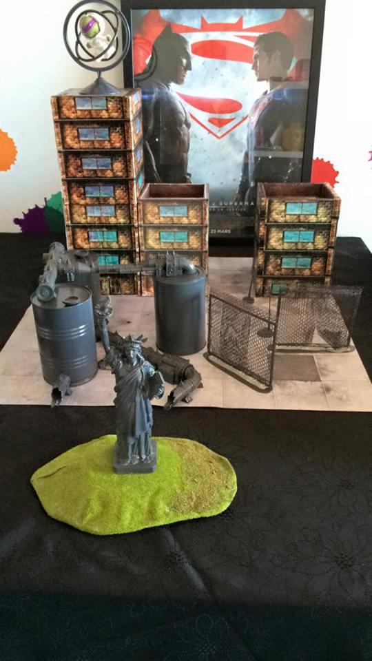 Table Pour BATMAN miniature Game 13140911