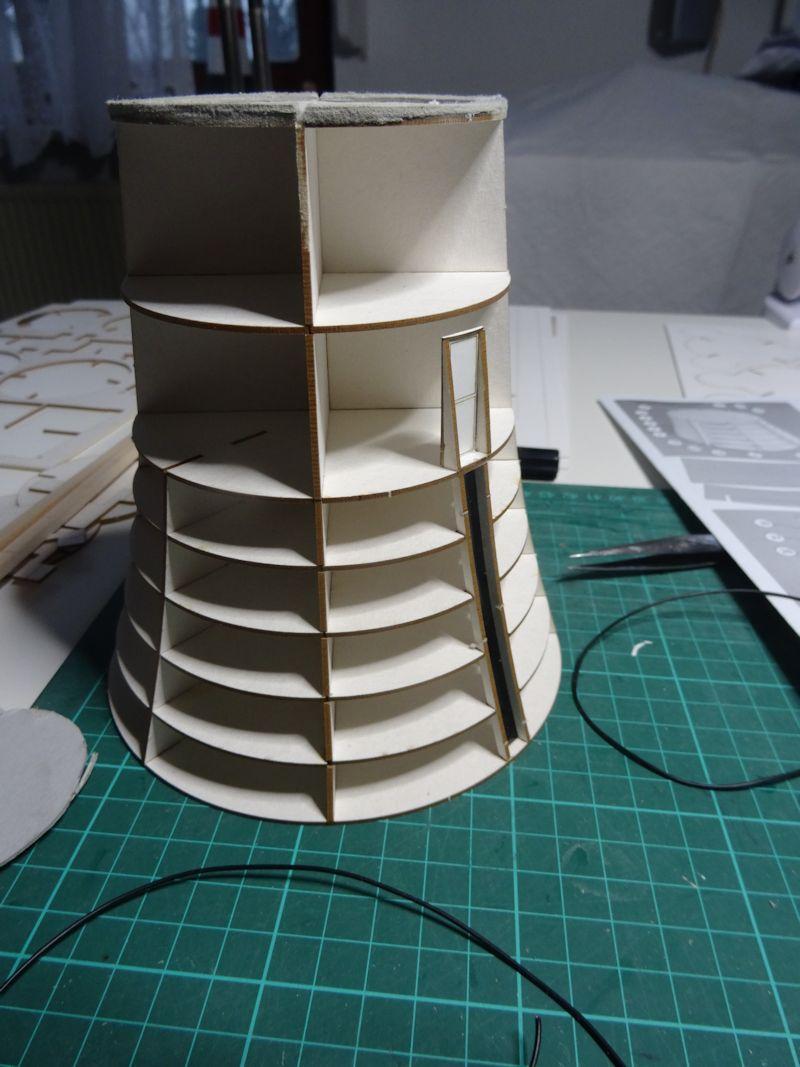 Kurti's  Leuchtturm Roter Sand, Maßstab 1:72   Rs710
