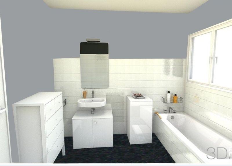 salle de bains kitch à peindre Captur10