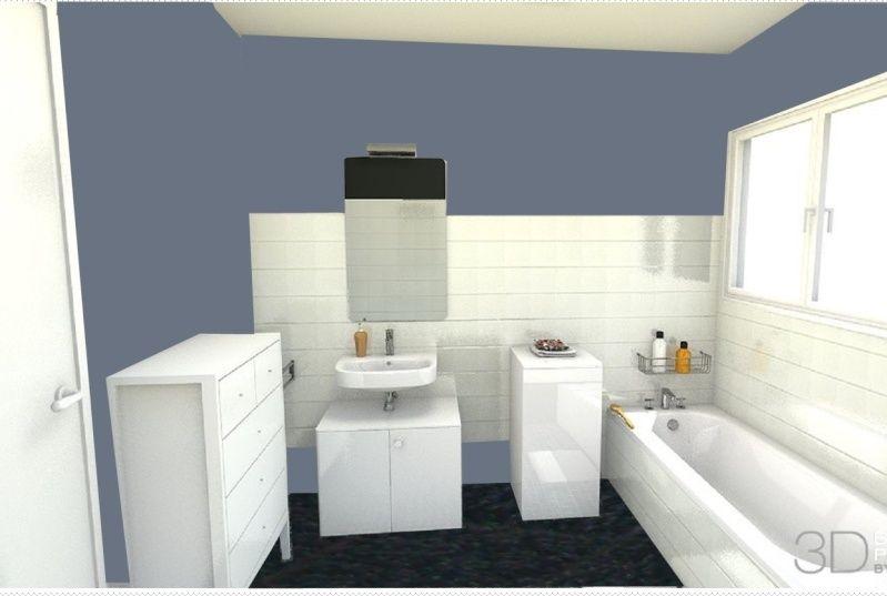 salle de bains kitch à peindre Captur11