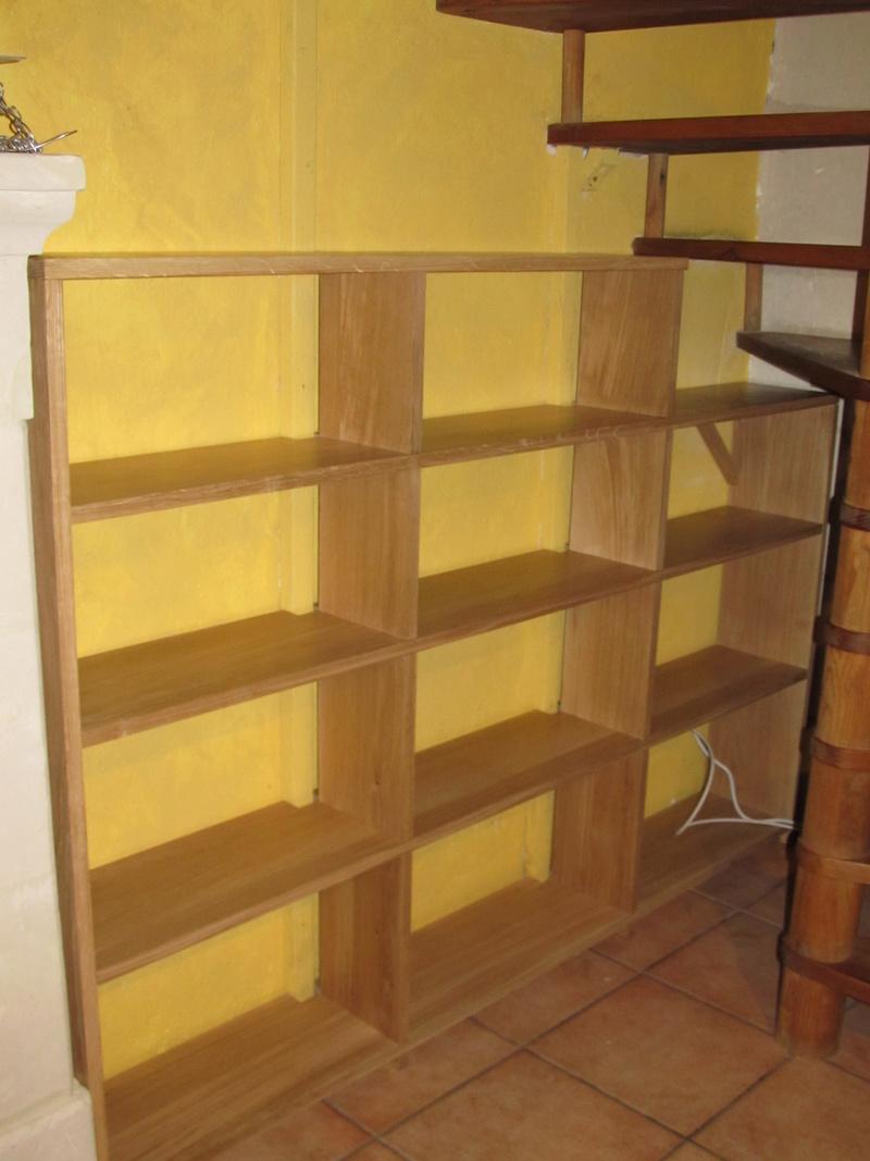 Une bibliothèque en chêne Biblio17