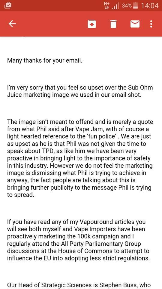 Le coup de gueule de P. Busardo suite au VAPE JAM UK - Page 3 12961611