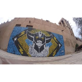 Goldorak : fresque... Ashekm10