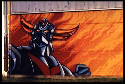 Goldorak : fresque... Grendi11