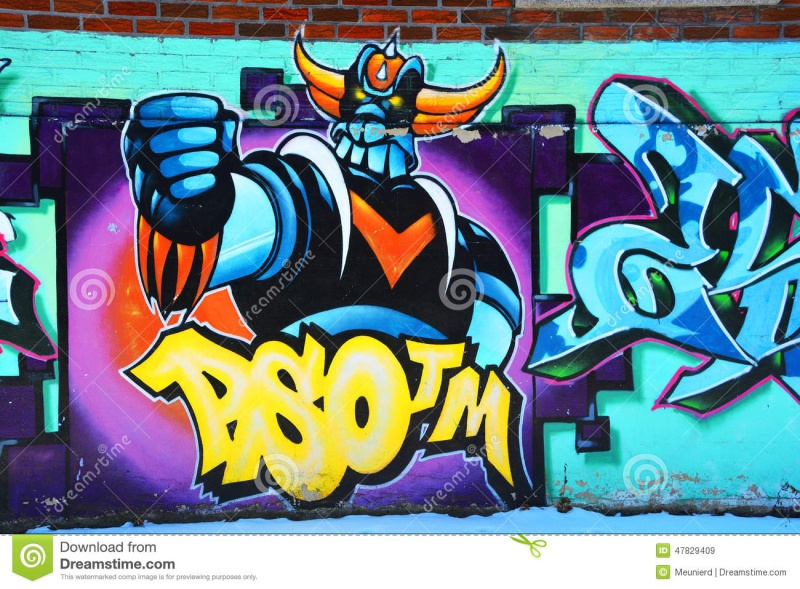 Goldorak : fresque... Montre10