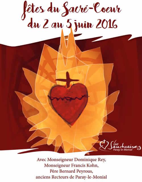 La fête du Coeur de Jésus (ou fête du Sacré-Coeur) à Paray le Monial  Unname12