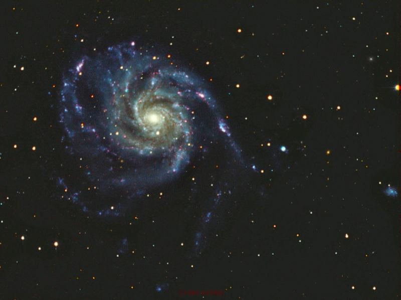 M101 galaxie du moulinet M101-r10