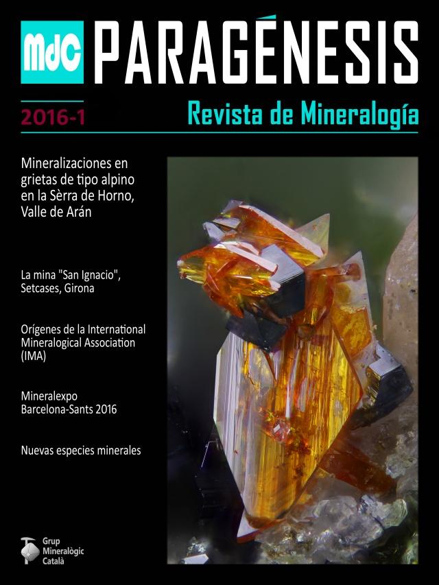NOVA revista Mineralogistes de Catalunya 2016-1 i Paragénesis 2016-1 Portad11