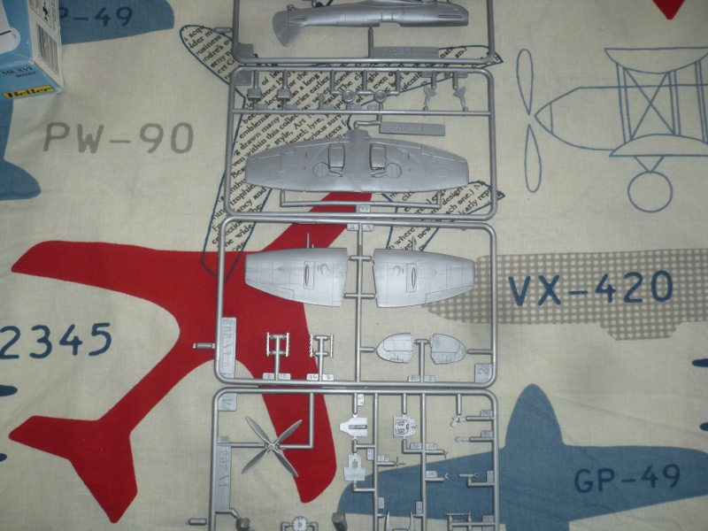 Spitfire XVI Heller 1/72 Finis ! P1080720