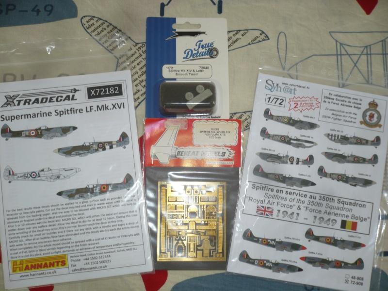 Spitfire XVI Heller 1/72 Finis ! P1080727