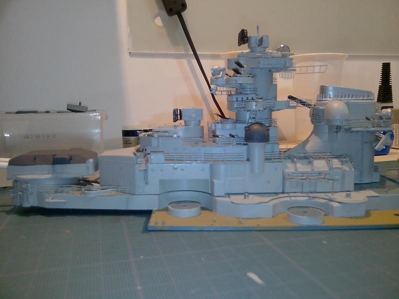 Bismarck par HellCat76 1/350 Academy, kit eduard - Page 7 Img_2032