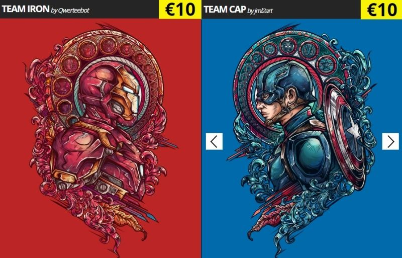 [Site web] Qwertee - Page 5 Marvel10