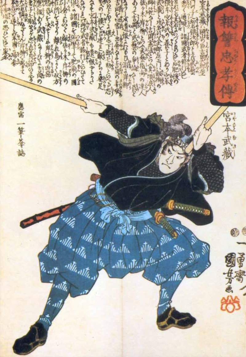 Five Most Famous Samurai Warriors in History Musash10