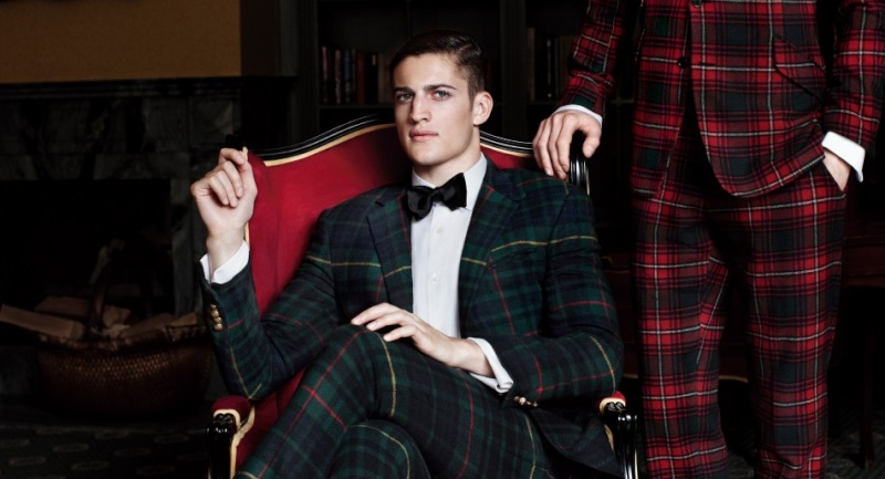 Tartan Fashion: The history of Plaid Ralph-10
