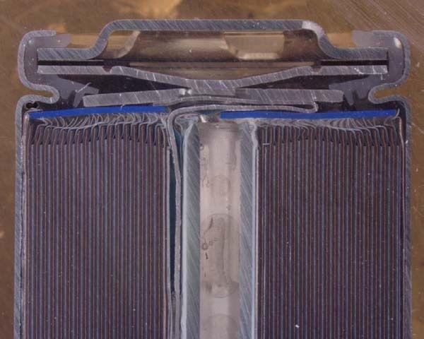 Déformation de batterie Xx110