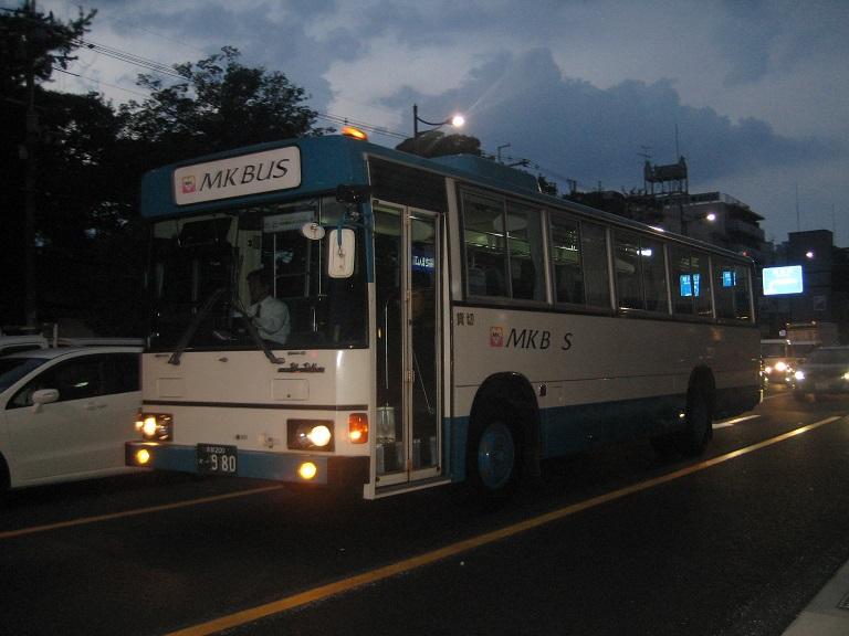 [2010年の夏][京都市] MK観光バス Img_6412