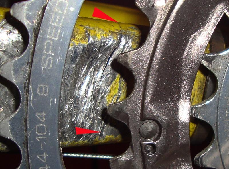 soudure cadre vtt specialized m4  Dsc04211