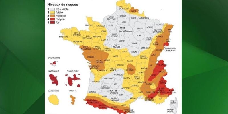 Le risque sismique ( France ). Risque10