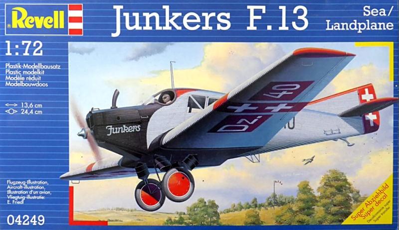 Fil rouge 2019 : Junkers F.13 - (Revell 1/72) *** Terminé en pg 4 Juf13-10