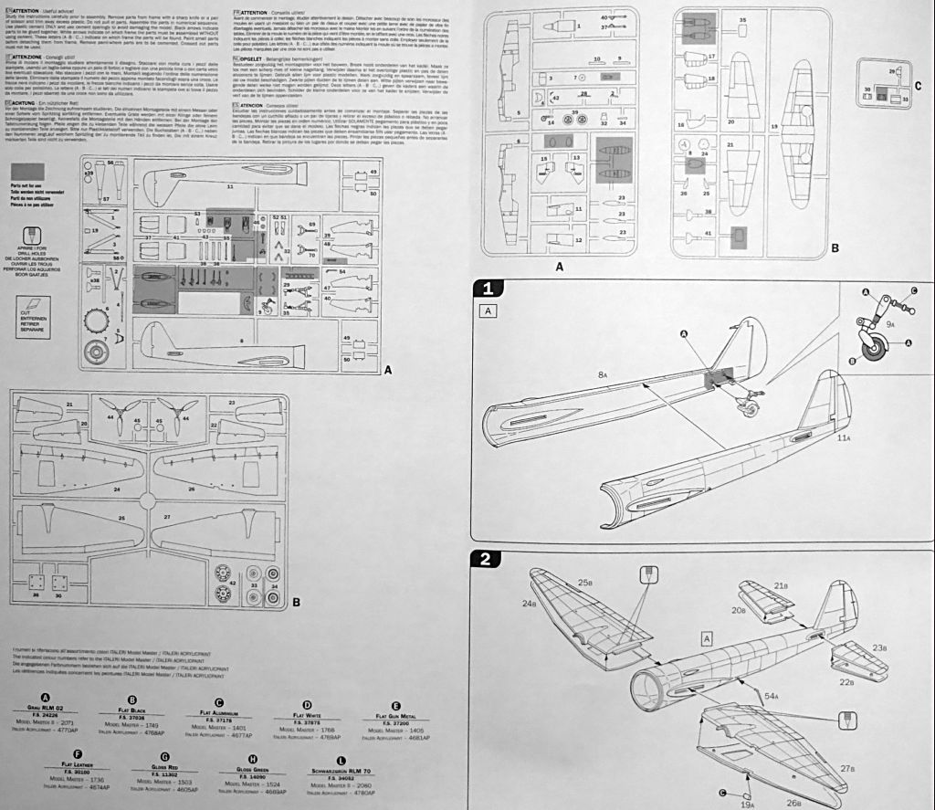 Diorama Mistel 1 - les préparatifs d'un grand BOUM Mistel25