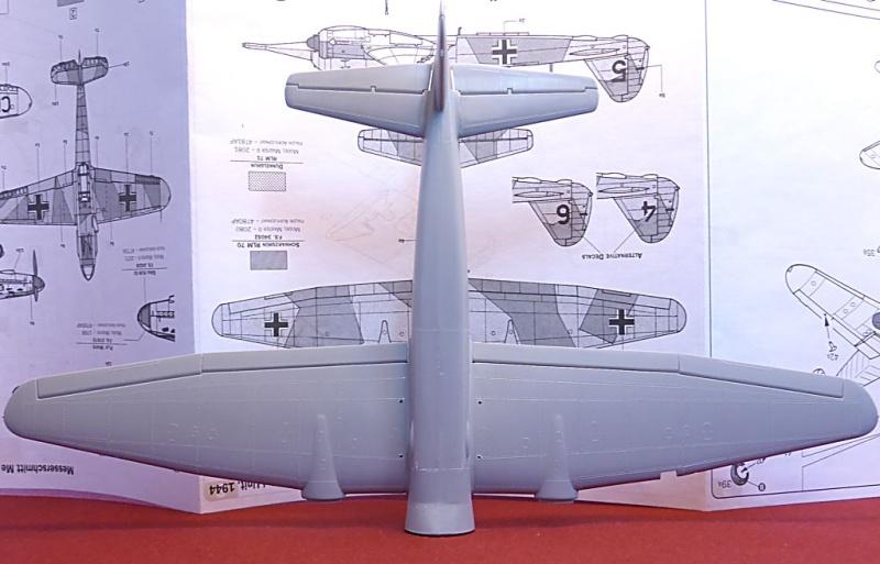 Diorama Mistel 1 - les préparatifs d'un grand BOUM Mistel49