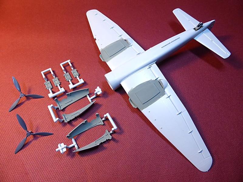 Diorama Mistel 1 - les préparatifs d'un grand BOUM Mistel50
