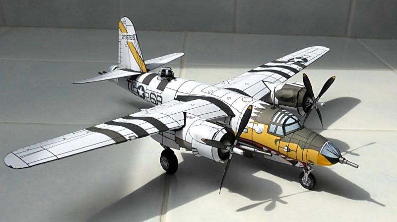 [PaperCraft] mes avions en carton échelle 1/60 Paperc11