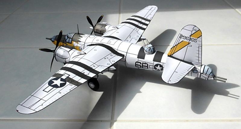 [PaperCraft] mes avions en carton échelle 1/60 Paperc12