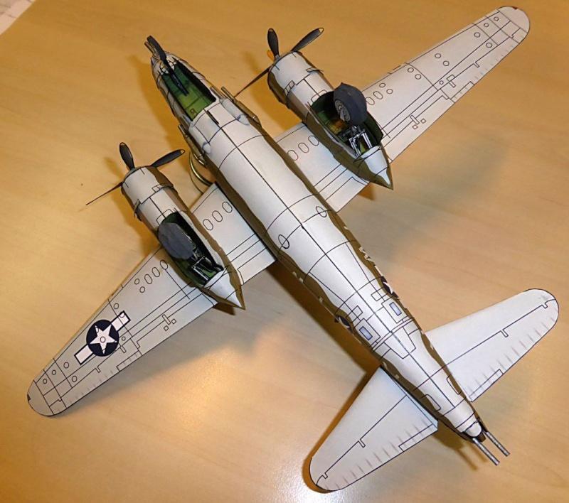 [PaperCraft] mes avions en carton échelle 1/60 Paperc15