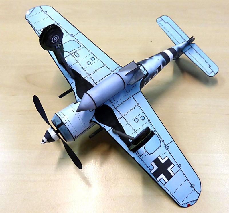 [PaperCraft] mes avions en carton échelle 1/60 Paperc17