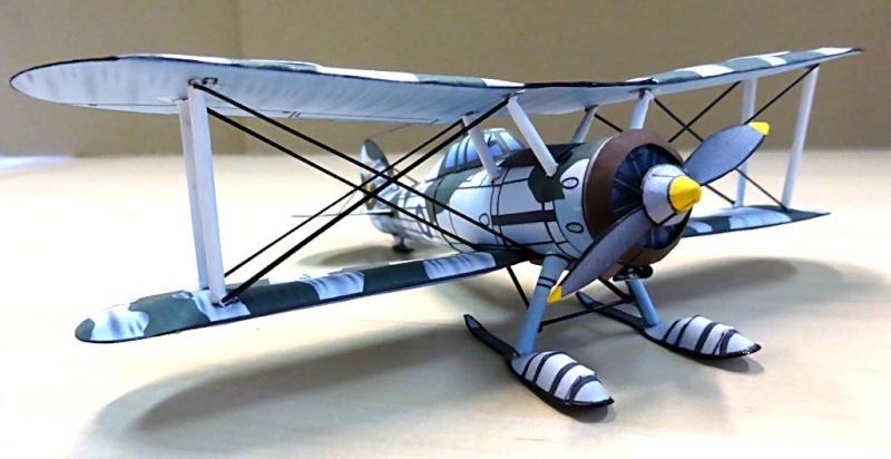 [PaperCraft] mes avions en carton échelle 1/60 Paperc20